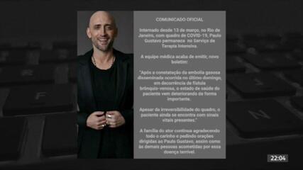 Morre no Rio o ator e humorista Paulo Gustavo aos 42 anos de Covid-19