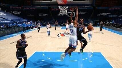Melhores momentos de Oklahoma City Thunder 99 x 103 Sacramento Kings pela NBA