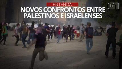 VÍDEO: Entenda os novos confrontos entre israelenses e palestinos