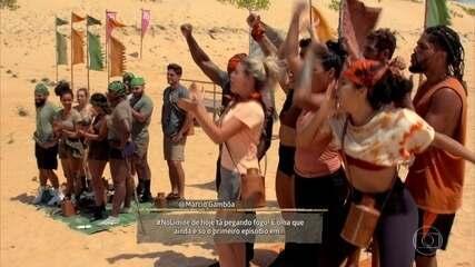 Tribo Carcará vence a Prova da Imunidade