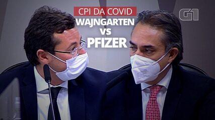 CPI da Covid: compare frases de Wajngarten e do executivo da Pfizer