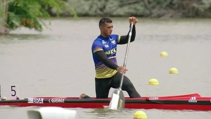 Isaquias Queiroz conquista a prata na final C1 1000m da Copa do Mundo de Canoagem