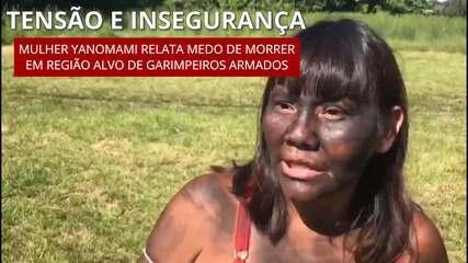 Tensão e insegurança: mulher Yanomami relata medo de morrer em região alvo de garimpeiros