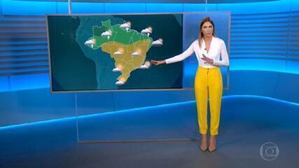 Chuva em Curitiba chega após um longo período de seca