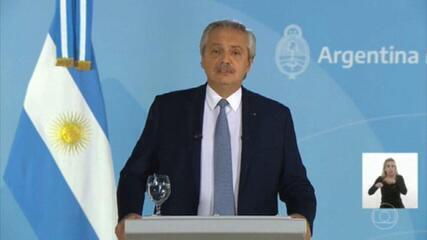 Argentina endurece medidas restritivas para tentar conter o avanço da Covid-19
