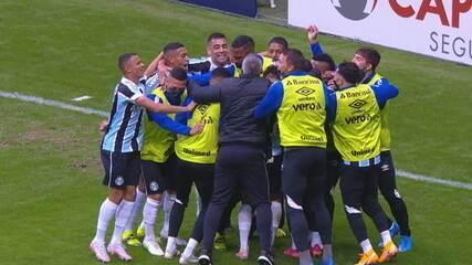 Veja os melhores momentos de Grêmio 1x1 Inter, pela final do Campeonato Gaúcho