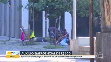 Pessoas em situação de extrema pobreza vão receber auxílio emergencial de R$600,00