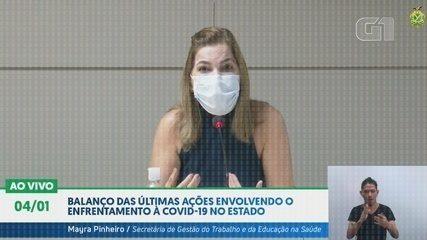 Em janeiro, Mayra Pinheiro diz a médicos para usarem tratamento precoce