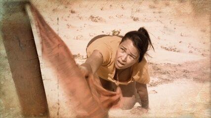 Ariadna é a terceira eliminada de 'No Limite'