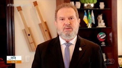 Governador Mauro Carlesse fala sobre a convocação para prestar depoimento na CPI da Covid