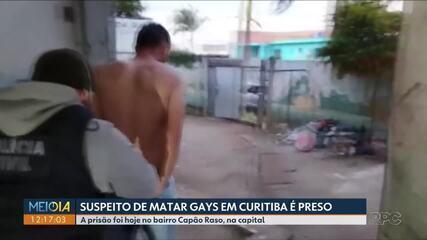 Suspeito de matar homens gays é preso em Curitiba