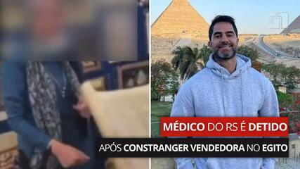 Médico do RS é detido no Egito