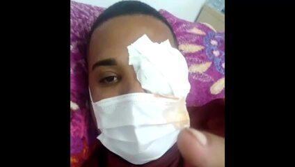 'Quero que ele perca a farda', diz homem atingido no olho pela PM durante protesto