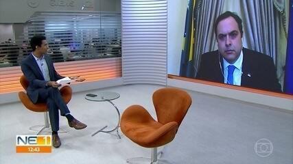 Governador Paulo Câmara fala das investigações da conduta de policiais, durante protesto