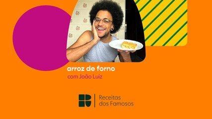 João Luiz ensina a fazer arroz de forno