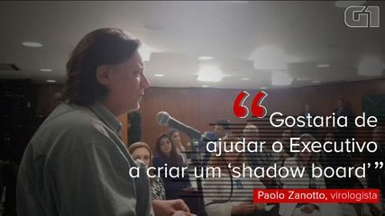 VÍDEO: Paolo Zanotto fala em dúvidas sobre a vacina em vídeo de reunião com Bolsonaro