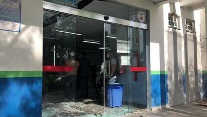 Delegacia é alvo de ataques em Manaus