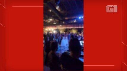 Vídeo mostra aglomeração em casamento na fazenda, com participação de dupla sertaneja
