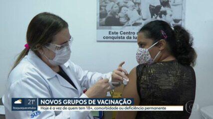 Grávidas e puérperas sem comorbidades começam a ser vacinadas na capital