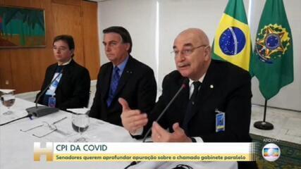 CPI da Covid quer aprofundar apuração sobre existência de gabinete paralelo