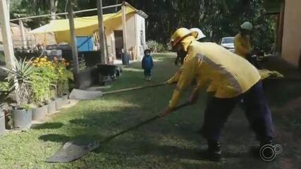 Cidades da região de Jundiaí criam projeto para formar novos brigadistas de incêndio