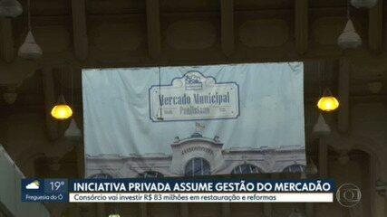 Iniciativa privada assume gestão do Mercadão de SP