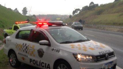 Cetesb faz fiscalização nas rodovias para verificar a emissão de fumaça preta