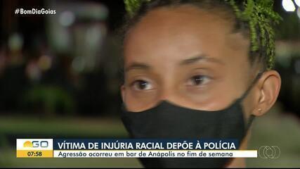 Polícia Civil ouve depoimento de garçonete envolvida em caso de injúria racial em Anápolis