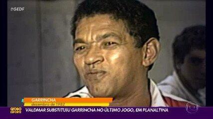 Último jogo do Garrincha foi em Planaltina