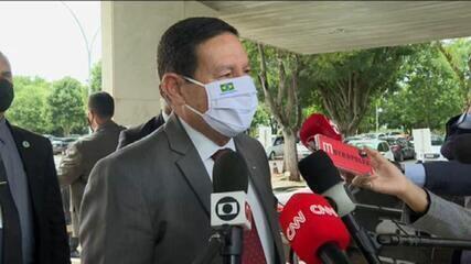 Mourão diz não ter sido convidado para reunião do governo e afirma: 'Sinto falta'