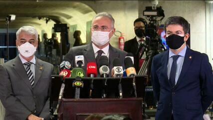 VÍDEO: Renan Calheiros fala sobre inclusão de Marcelo Queiroga na lista investigados pela CPI