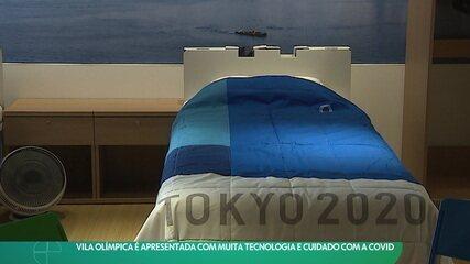Vila Olímpica é apresentada com muita tecnologia e cuidado com a Covid
