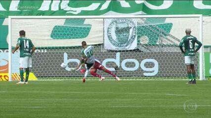 Gols do Fantástico: Palmeiras vira no fim sobre o América-MG e entra para o G-4