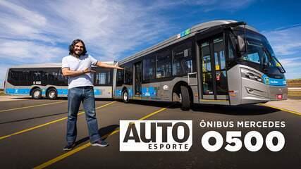 Como é acelerar o ônibus O500, o maior Mercedes do Brasil