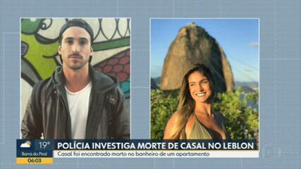 Polícia investiga morte de casal no Leblon