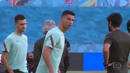 Cristiano Ronaldo e Lukaku são os protagonistas de Portugal e Bélgica nas oitavas da Euro