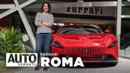 Exclusivo: como é acelerar a Ferrari Roma de R$ 3,3 milhões