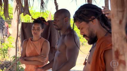 Ilana si scusa con la tribù Karkara