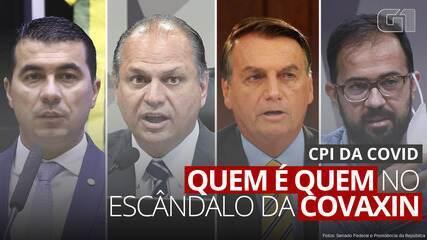 CPI da Covid: quem é quem no escândalo da Covaxin
