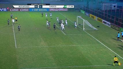 Melhores momentos de Botafogo 1 x 1 Vasco pela 2ª rodada do Campeonato Brasileiro sub-20