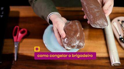 Aprenda como congelar o brigadeiro