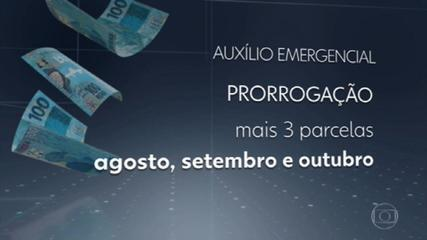 Governo Federal anuncia oficialmente nova prorrogação do auxílio emergencial