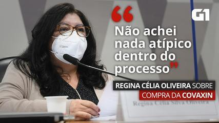 VÍDEO: 'Não achei nada atípico dentro do processo', diz Regina Célia Oliveira