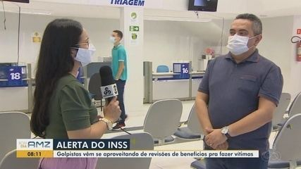 INSS no Amapá alerta para golpe contra beneficiários por meio da revisão de dados