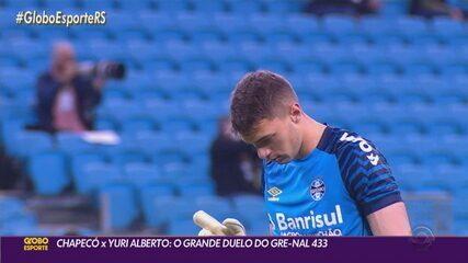 Gabriel Chapecó brilha e Gre-Nal 433 termina empatado sem gols