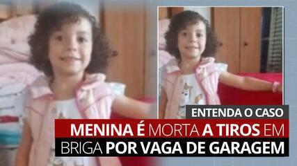 VÍDEO: Menina de 4 anos é morta a tiros durante briga por vaga de garagem em SP; entenda