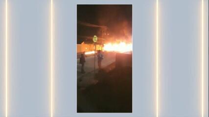 Bandidos invadem empresa e moradores relatam madrugada violenta no interior de SP