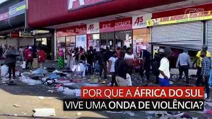 Por que a África do Sul vive uma onda de violência?