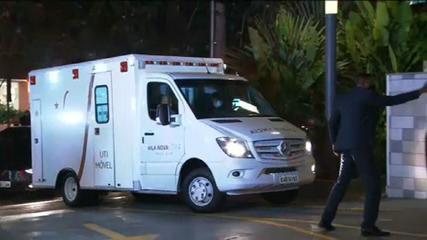 VÍDEO: Jair Bolsonaro chega a hospital na zona sul de SP