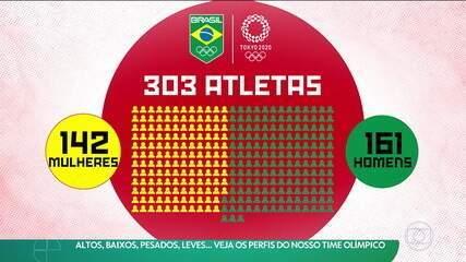 Altos, baixos, pesados, leves: Veja os perfis do time olímpico do Brasil em Tóquio